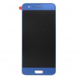 Ecran Bleu avec vitre et LCD prémonté pour Huawei Honor 9 photo 1