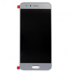 Ecran Argent avec vitre et LCD prémonté pour Huawei Honor 9 photo 1