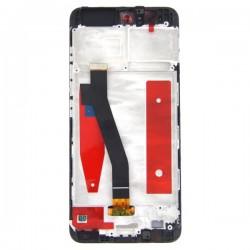 Bloc Ecran Noir COMPLET prémonté sur chassis pour Huawei P10 photo 3