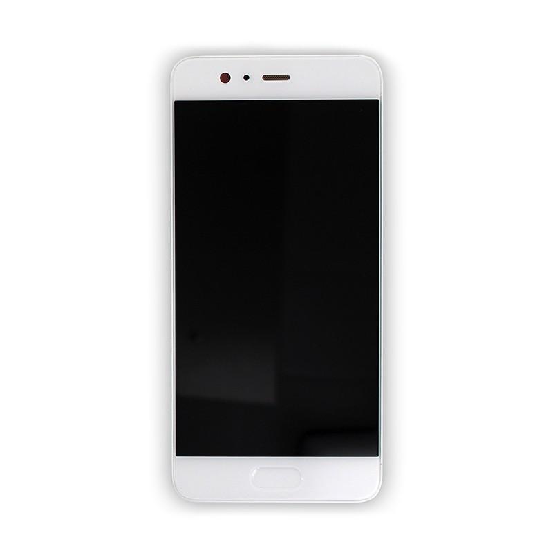 Bloc Ecran Blanc COMPLET prémonté + batterie sur chassis pour Huawei P10 photo 2