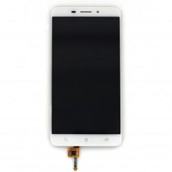 """Ecran 5.5"""""""" Blanc avec vitre et LCD pré-assemblé pour Asus Zenfone 3 Laser photo 1"""