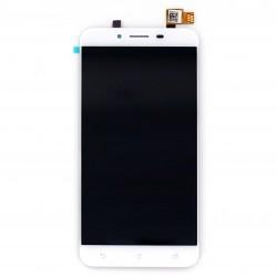 """Ecran 5.5"""""""" Blanc avec vitre et LCD pré-assemblé pour Asus Zenfone 3 Max photo 1"""