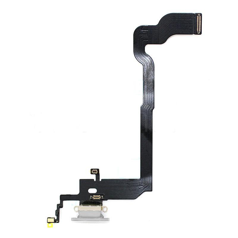 Connecteur de charge gris pour iPhone X photo 2