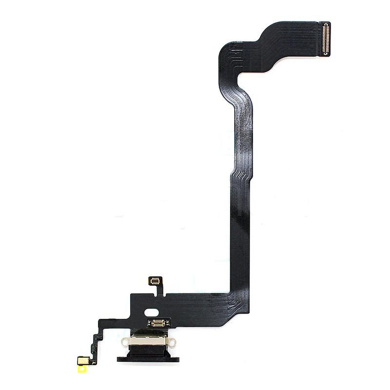 Connecteur de charge noir pour iPhone X photo 2
