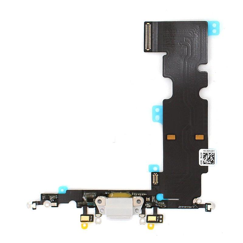 Connecteur de charge gris pour iPhone 8 Plus photo 1