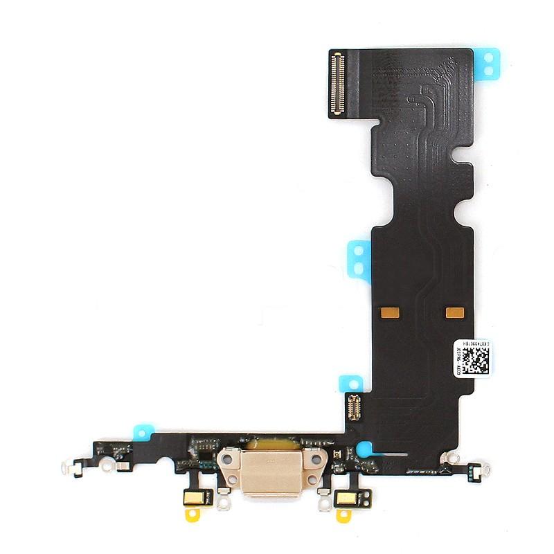 Connecteur de charge beige pour iPhone 8 Plus photo 1