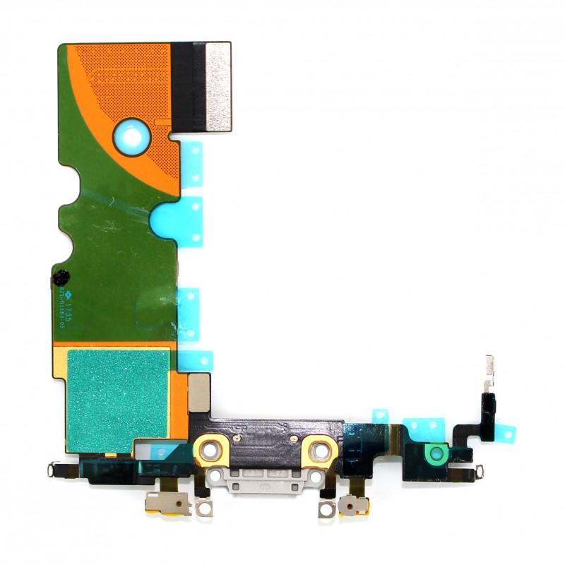 Connecteur de charge gris pour iPhone 8 photo 1