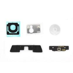 Lot de 5 composants pour bouton home blanc iPad 2 photo 2