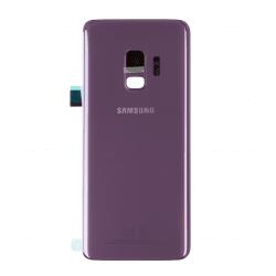 Vitre arrière pour Samsung Galaxy S9 Violet Orchidée photo 1