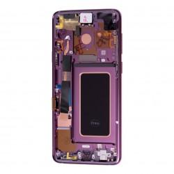 Bloc Ecran Amoled et vitre prémontés sur châssis pour Galaxy S9 Plus Orchidée photo 3