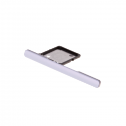 Rack tiroir pour cartes SIM pour Sony Xperia XA1 Ultra Blanc