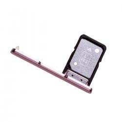 Rack tiroir pour cartes SIM pour Sony Xperia XA2 Rose