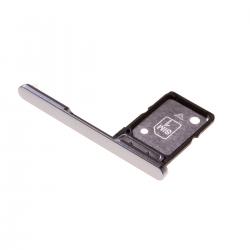 Rack tiroir pour cartes SIM pour Sony Xperia XA2 argent