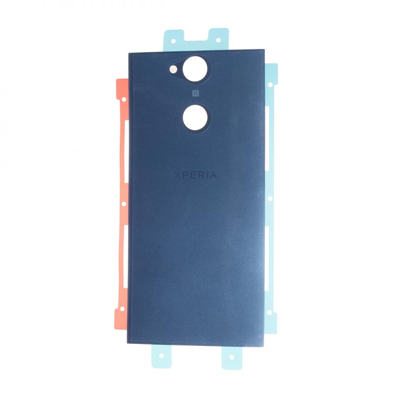 coque arri232re bleu pour sony xperia xa2 224 changer en cas