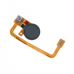 Nappe avec lecteur d'empreintes digitales pour Sony XA2 et XA2 Ultra Argent Photo 1