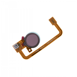 Nappe avec lecteur d'empreintes digitales pour Sony XA2 et XA2 Ultra Rose Photo 1