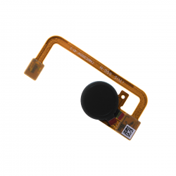 Nappe avec lecteur d'empreintes digitales pour Sony XA2 et XA2 Ultra Noir Photo 1