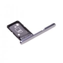 Rack tiroir pour cartes SIM pour Sony Xperia XA2 Ultra Argent