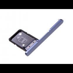 Rack tiroir pour cartes SIM pour Sony Xperia XA2 Ultra Bleu