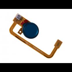 Nappe avec lecteur d'empreintes digitales pour Sony Xperia XA2 Ultra Bleu photo 1