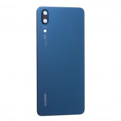 Vitre arrière Bleu pour Huawei P20 Photo 1