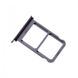 Rack tiroir 2 cartes SIM pour Huwei P20 Bleu.