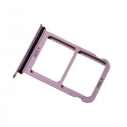 Rack tiroir 2 cartes SIM pour Huwei P20 Rose
