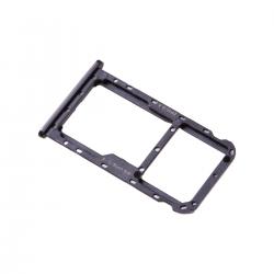 Rack tiroir carte SIM et SD Noir pour Huawei Mate 10 Lite