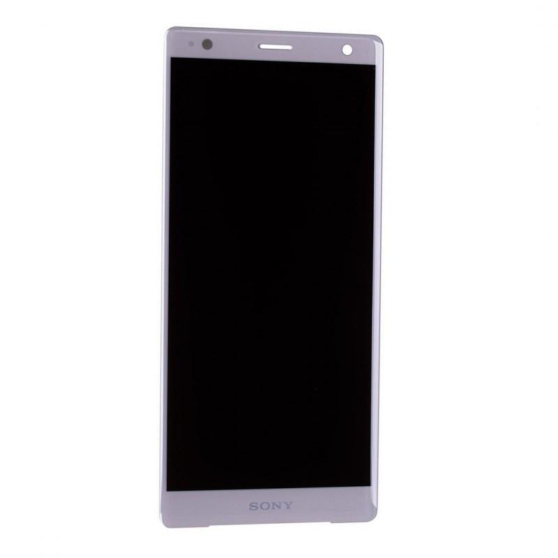 Ecran Argent avec Vitre et LCD prémontés pour Sony Xperia XZ2 / XZ2 Dual Photo 1