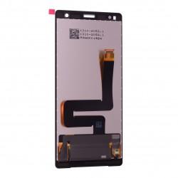 Ecran Argent avec Vitre et LCD prémontés pour Sony Xperia XZ2 / XZ2 Dual Photo 2