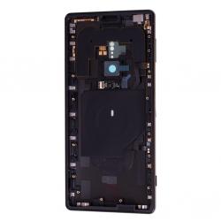 Coque arrière avec chassis et lecteur d'empreintes pour Sony Xperia XZ2 / XZ2 Dual Noir Photo 2