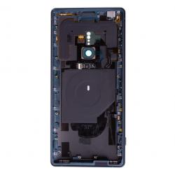Coque arrière avec chassis et lecteur d'empreintes pour Sony Xperia XZ2 / XZ2 Dual Vert Photo 2