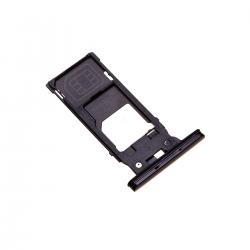 Rack tiroir cartes SIM et SD Noir pour Sony Xperia XZ2 photo 2