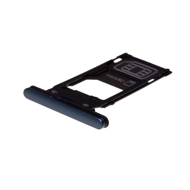 Rack tiroir cartes SIM et SD Vert pour Sony Xperia XZ2 photo 1