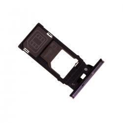 Rack tiroir cartes SIM et SD Rose pour Sony Xperia XZ2 Photo 2