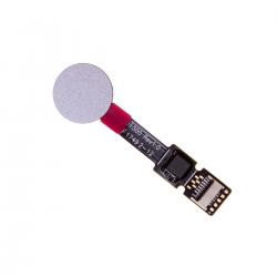 Nappe avec lecteur d'empreintes digitales pour Sony Xperia XZ2 et XZ2 Compact Argent Photo 1