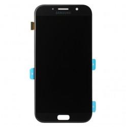 Bloc Ecran noir avec vitre + Amoled pour Samsung Galaxy A7 2017 photo 2