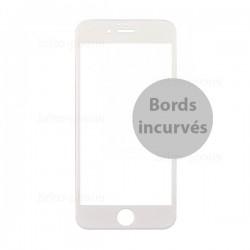 Protecteur en verre trempé blanc INCURVE pour iPhone 7 photo 2
