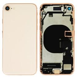 Coque arrière complète Or pour iPhone 8 Photo 1