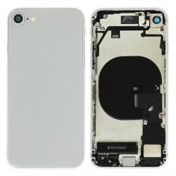 Coque arrière complète Argent pour iPhone 8 Photo 1