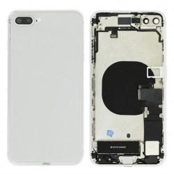 Coque arrière complète Argent pour iPhone 8 Plus Photo 1