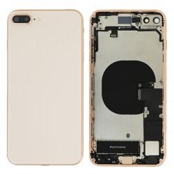 Coque arrière complète Or pour iPhone 8 Plus Photo 1