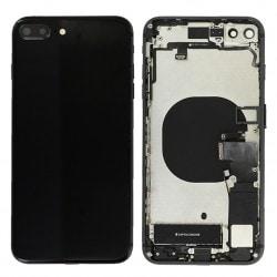 Coque arrière complète Noire pour iPhone 8 Plus Photo 1