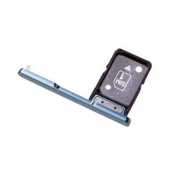 Rack tiroir pour cartes SIM pour Sony Xperia XA2 Bleu