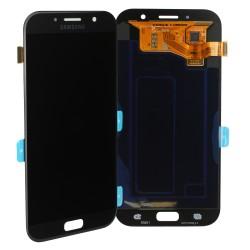 Bloc Ecran noir avec vitre + Amoled pour Samsung Galaxy A7 2017 photo 1