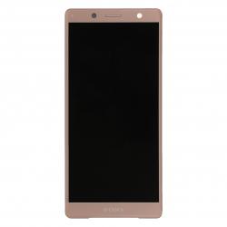Ecran Rose avec Vitre et LCD prémontés pour Sony Xperia XZ2 Compact / XZ2 Compact Dual Photo 1
