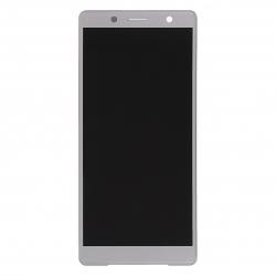 Ecran Argent avec Vitre et LCD prémontés pour Sony Xperia XZ2 Compact / XZ2 Compact Dual Photo 1