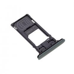 Rack tiroir cartes SIM et SD Vert pour Sony Xperia XZ2 Compact Photo 1