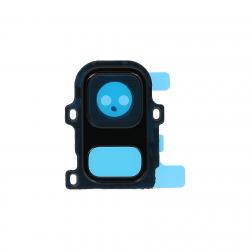 Contour de cache Caméra arrière Noir pour Samsung Galaxy A6 2018 Photo 1