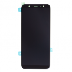 Ecran noir avec vitre + Amoled pour Samsung Galaxy A6+ 2018 Photo 1